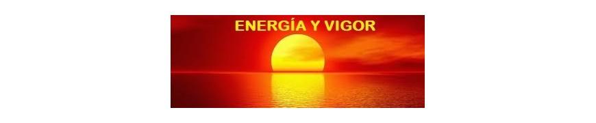 ENERGÍA,  VIGOR Y VITALIDAD